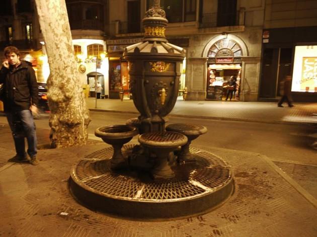 カナレタスの泉