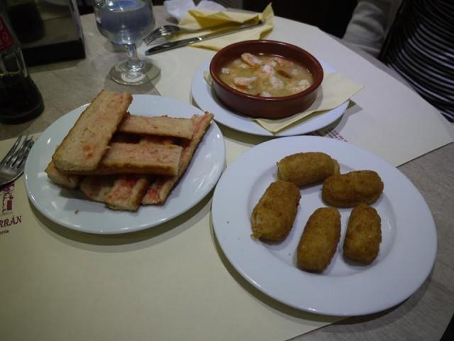 スペインのご飯