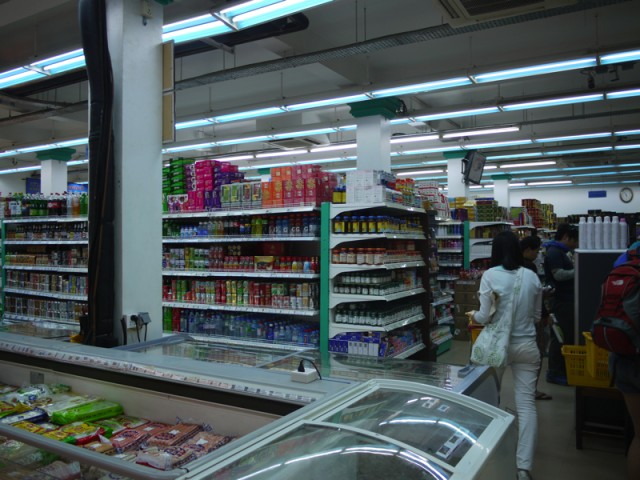 シェムリアップのスーパー