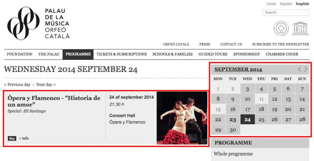 Wednesday 2014 September 24   Palau de la Música Catalana