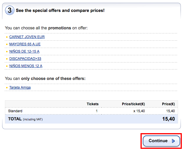 Ticketmaster.es   Ticket sale   Purchase   Step 1   Booking_4