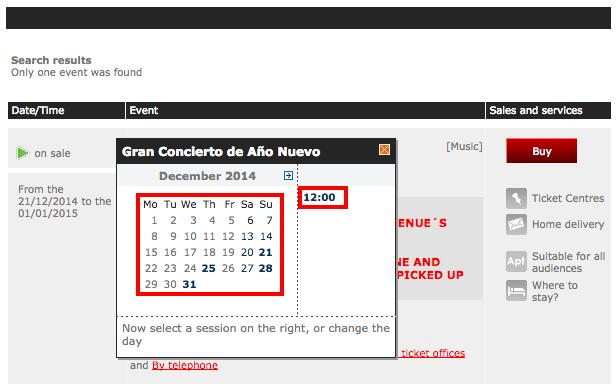 Find tickets Gran Concierto de Año Nuevo   Ticketmaster.es2
