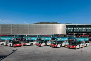 バルセロナ観光バス
