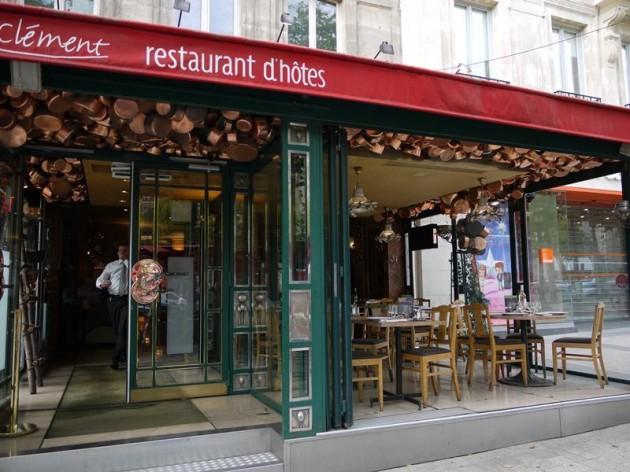 シャンゼリゼ通りのお店