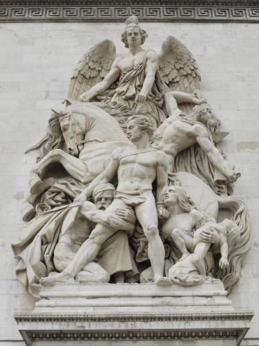 凱旋門の彫刻