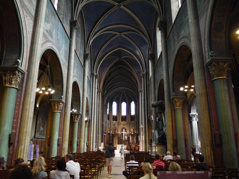サン・ジェルマン・デ・プレ教会