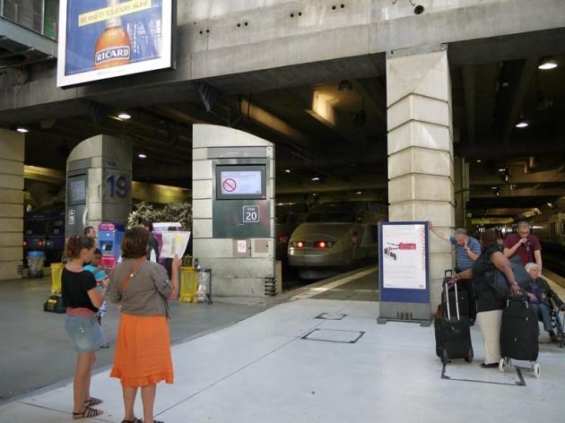 パリのモンパルナス駅