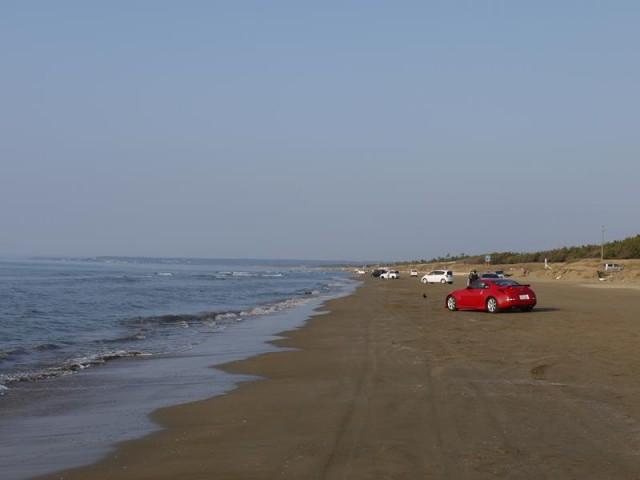 千里浜(ちりはま)ドライブウェイ