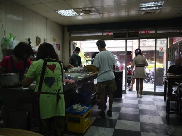 周記肉粥店(ツォウチーロウツォウティエン)