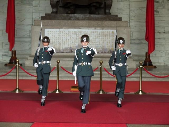 中正記念堂の衛兵交代式