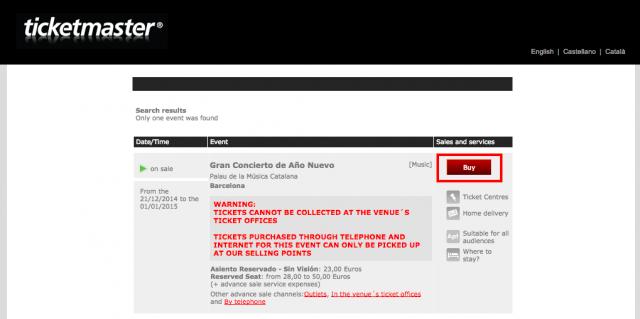 Find tickets Gran Concierto de Año Nuevo   Ticketmaster.es