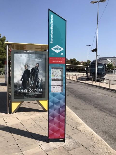 Barcelona Bus Touristicのバス停